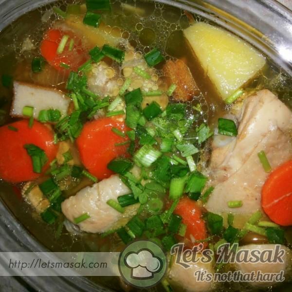 Sup Ayam Kampung
