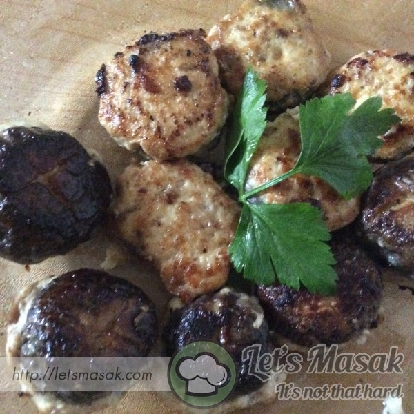 Stuffed Shiitake Mushrooms