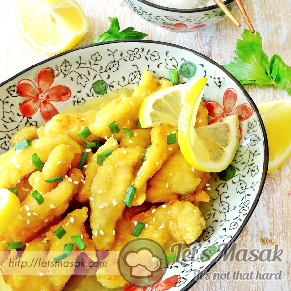 Lemon Chicken Chinese Style