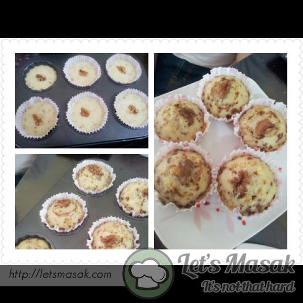 Walnut Milky Muffins