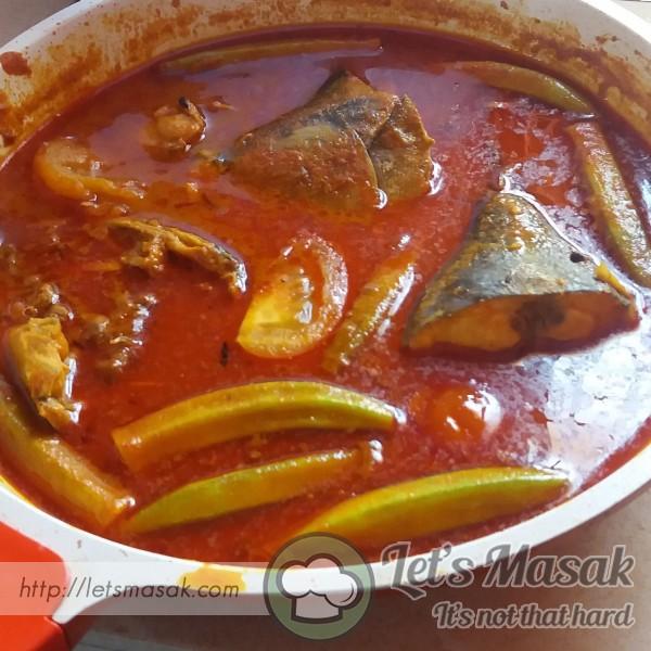 Kari Mamak Ikan Kayu