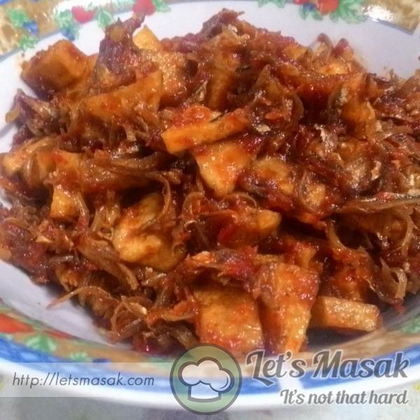 how to make sambal ikan bilis