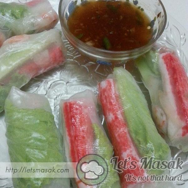 Popia Vietnam / Vietnam Spring Roll