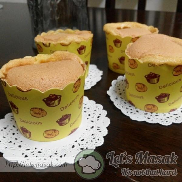 Chiffon Cupcake