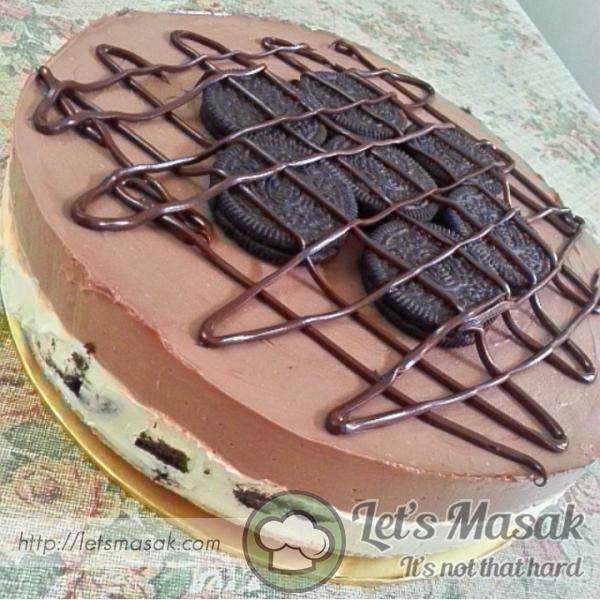No Bake Nutella Oreo Cheesecake