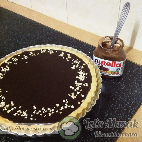 Recook For Recipe Nutella Cheese Tart