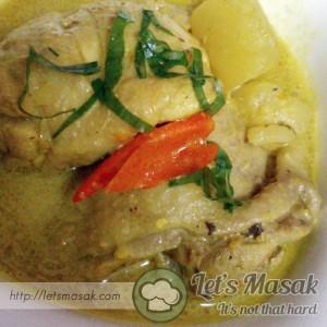 Ayam Masak Lemak Cili Api (Negeri Sembilan Style)