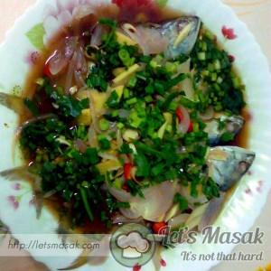 Ikan Masak Stim Halia