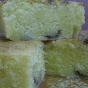 Kek Butter Coklat Cip