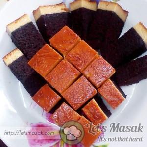 Kek Coklat Karamel