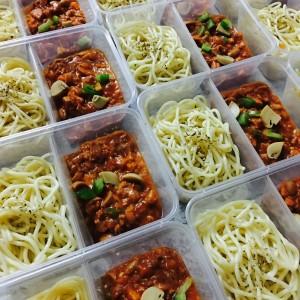 Spaghetti Bolognese Ayam