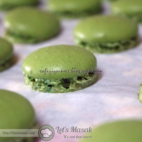 Macaron Hijau