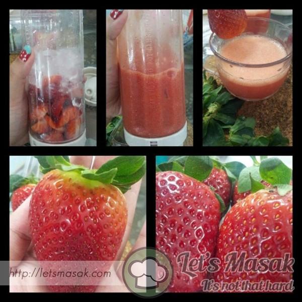 Strawberry's Juice Blender