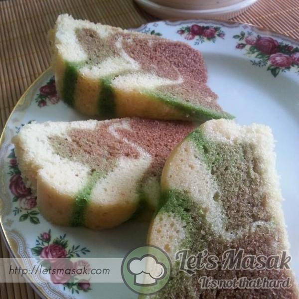 Kek Butter Kukus