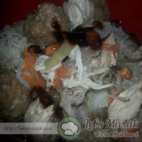 Soto Ayam Bebola Daging