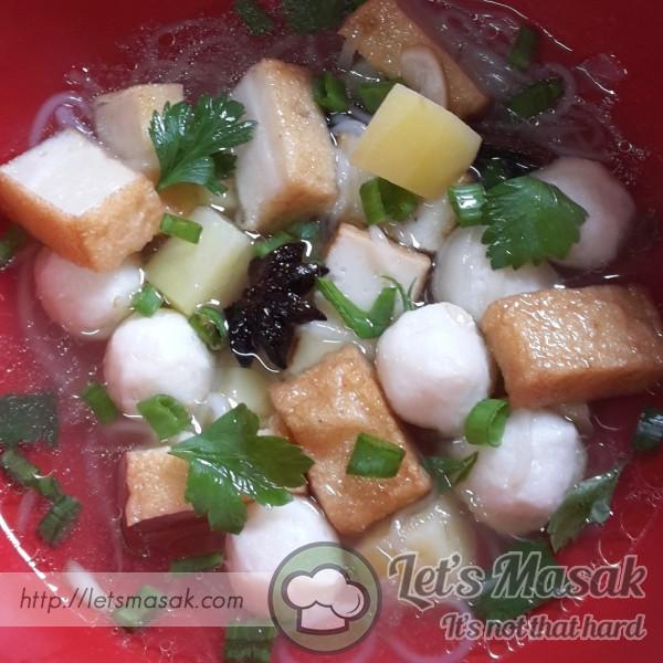Sup Fishball & Fishcake