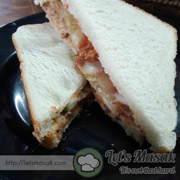 Sandwich Sardin