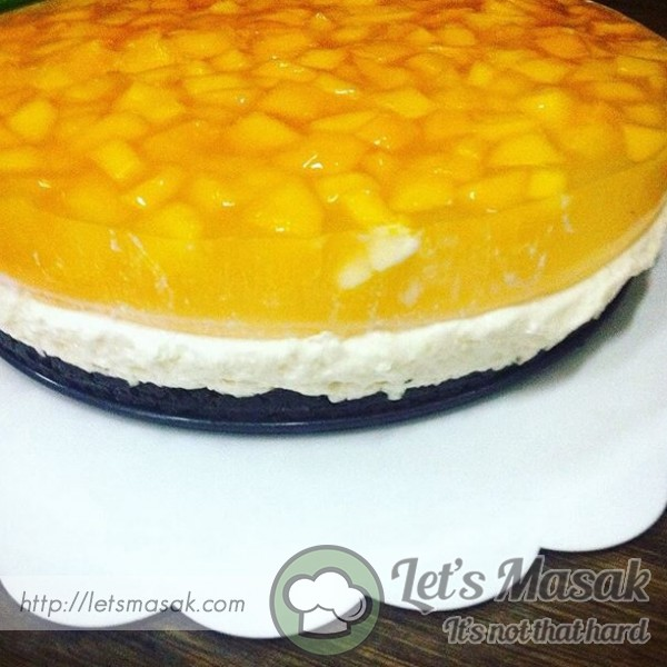 Oreo Cheesecake Mango Jelly